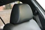 Octavia II 04-08 - headrest covers from automotive leather OEM Click to view details.