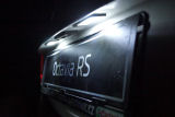 Octavia II 09-12 facelift - MEGA POWER LED licence plate light system KI-R Click to view details.