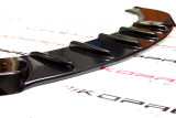 for Octavia II RS 04-08 - front bumper DTM spoiler - CARBON FIBRE look Click to view details.