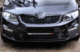for Octavia III - front grille in OEM honeycomb design KI-R Click to view details.