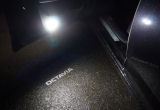 Octavia III - MEGA POWER LED safety door lights with GHOST light - OCTAVIA - WHITE Click to view details.