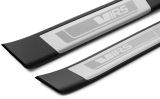 Octavia III - original OEM Skoda REAR door sill covers - VRS Click to view details.
