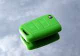 for Octavia III - silicone protective case for your OEM key - LIME GREEN - RS Click to view details.
