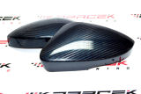 Octavia III - mirror covers - REAL CARBON FIBRE - BLUE Click to view details.
