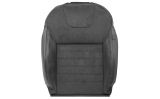 Octavia III - original Skoda Auto,a.s. front seat replacement cover BLACK ALCANTARA - Airbag - LEFT Click to view details.