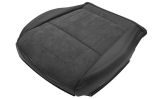 Octavia III - original Skoda Auto,a.s. front BOTTOM seat replacement cover BLACK ALCANTARA - RIGHT Click to view details.