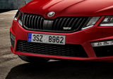 Octavia III Facelift 17+  BLACK grille frame from Octavia III RS245 Click to view details.