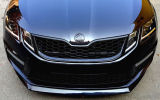 Octavia III RS Facelift - front grille in OEM honeycomb design KI-R - V2 Click to view details.