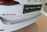 for Octavia IV Combi - rear bumper protective panel by Martinek Auto -  ALU look Click to view details.