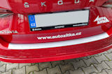 for Octavia IV Combi - rear bumper protective panel by Martinek Auto -  VV - ALU look Click to view details.