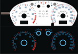 for Fabia - plasma dashboard gauges RW-A - for benzin model Click to view details.