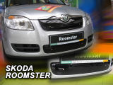 Roomster - winter grille cover for the front bumper Click to view details.