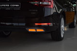 for Superb III - original Martinek auto exhaust-like spoilers - ALU - GLOWING RED Click to view details.