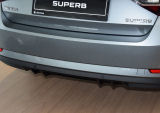 for Superb III - rear bumper DTM center diffusor Martinek Auto - GLOSSY BLACK Click to view details.