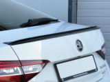 for Superb III - rear trunk DTM spoiler - CARBON look Click to view details.