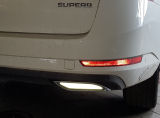 for Superb III - original Martinek Auto exhaust-like spoilers - RS style - REFLEX WHITE Click to view details.
