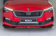 for Scala - front bumper DTM spoiler - V2 - CARBON look Click to view details.