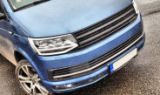 VW T6 - beautiful sportive badgeless grille - KI-R Click to view details.