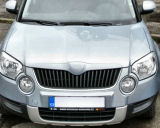 Skoda Yeti - front grille badgeless cover KI-R Click to view details.