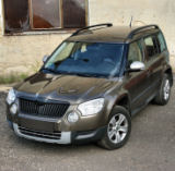 Skoda Yeti - stainless steel RS6 MATT mirror covers KI-R Click to view details.