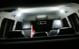 Skoda Yeti - interior MEGA POWER LED dome light set Detaljer vises med klik.