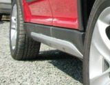 Yeti - off road style side skirts SILVER METALLIC Click to view details.