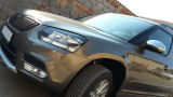 Yeti Facelift 2014+ massive STAINLESS STEEL lightning chrome mirror covers Click to view details.