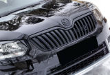 Yeti Facelift 2013+ front grille frame basic black MONTE CARLO - original Skoda Auto,a.s. Click to view details.